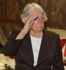 Past Commander, Laura Williams Dunlop Saluting you!